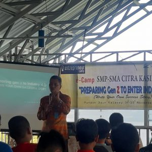 E-Camp : Preparing Gen Z to Enter Industry 4.0