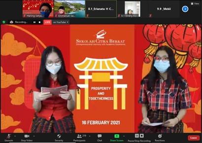 Chinese New Year SMP Citra Berkat Tangerang